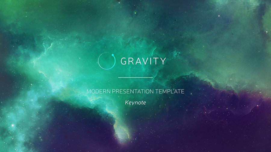 Gravity Keynote - Modern Presentation Template