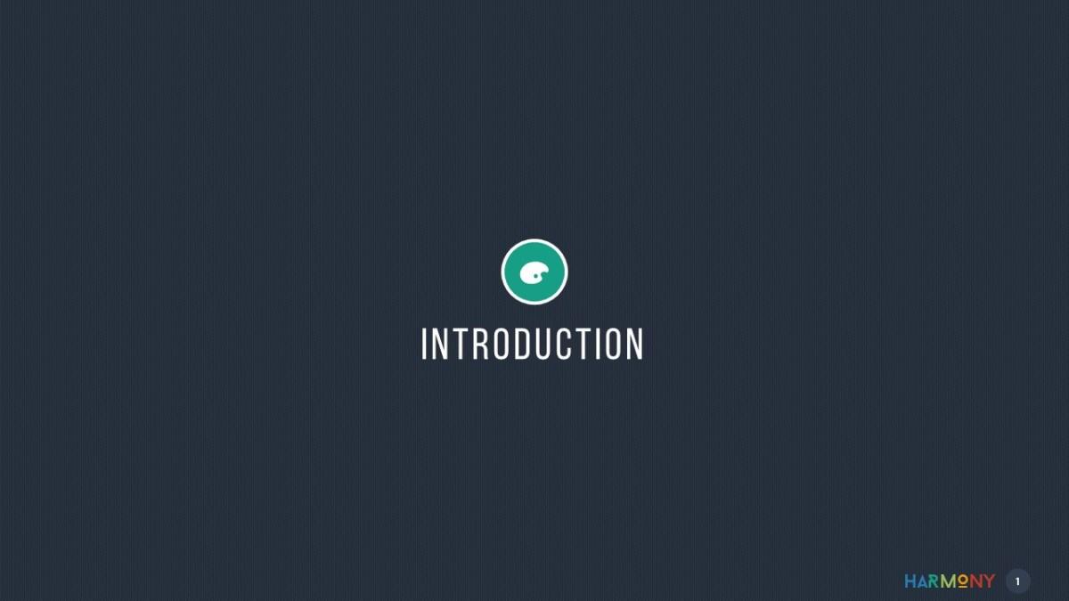 Harmony - Multipurpose Keynote Template