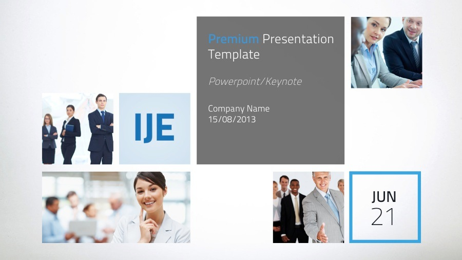 IJE - Premium Keynote Template