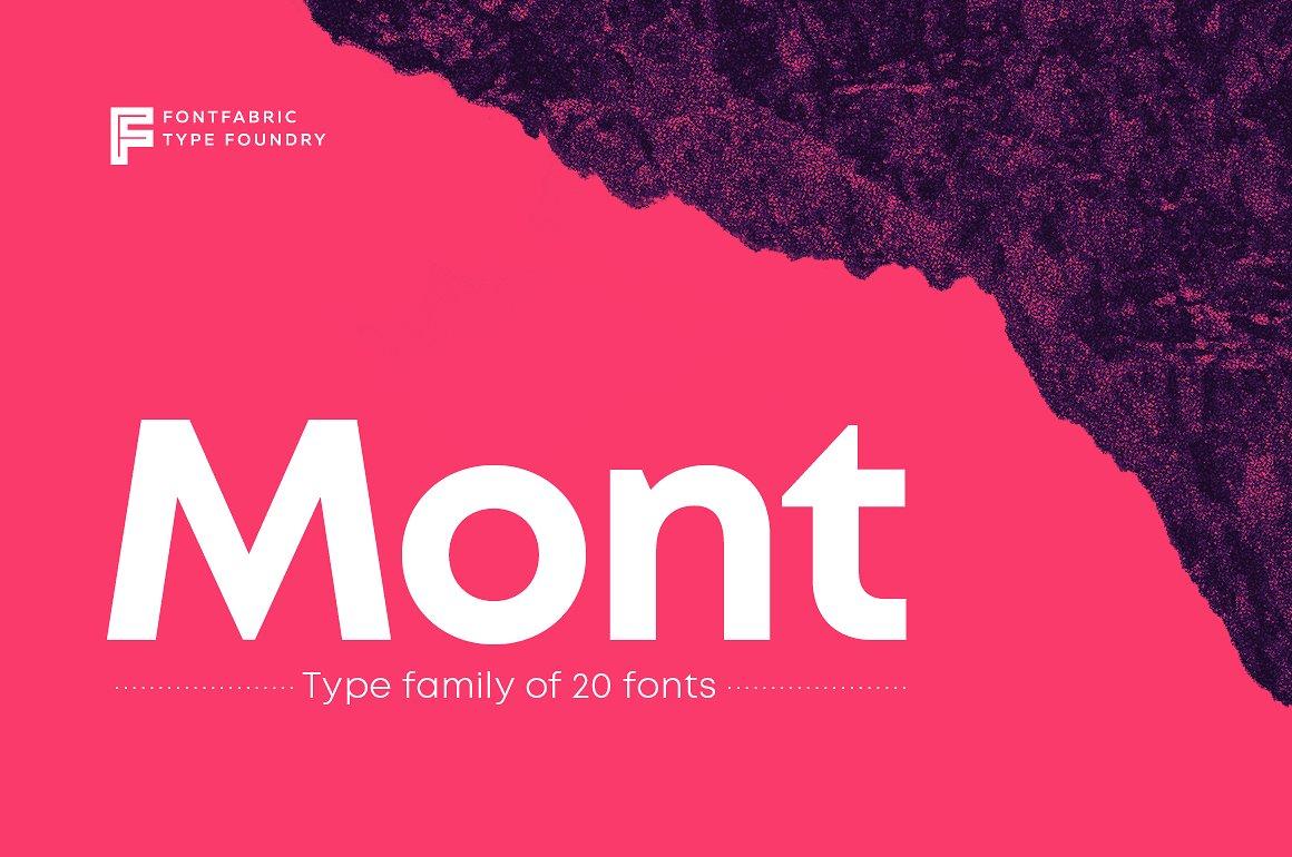 Mont Script Font