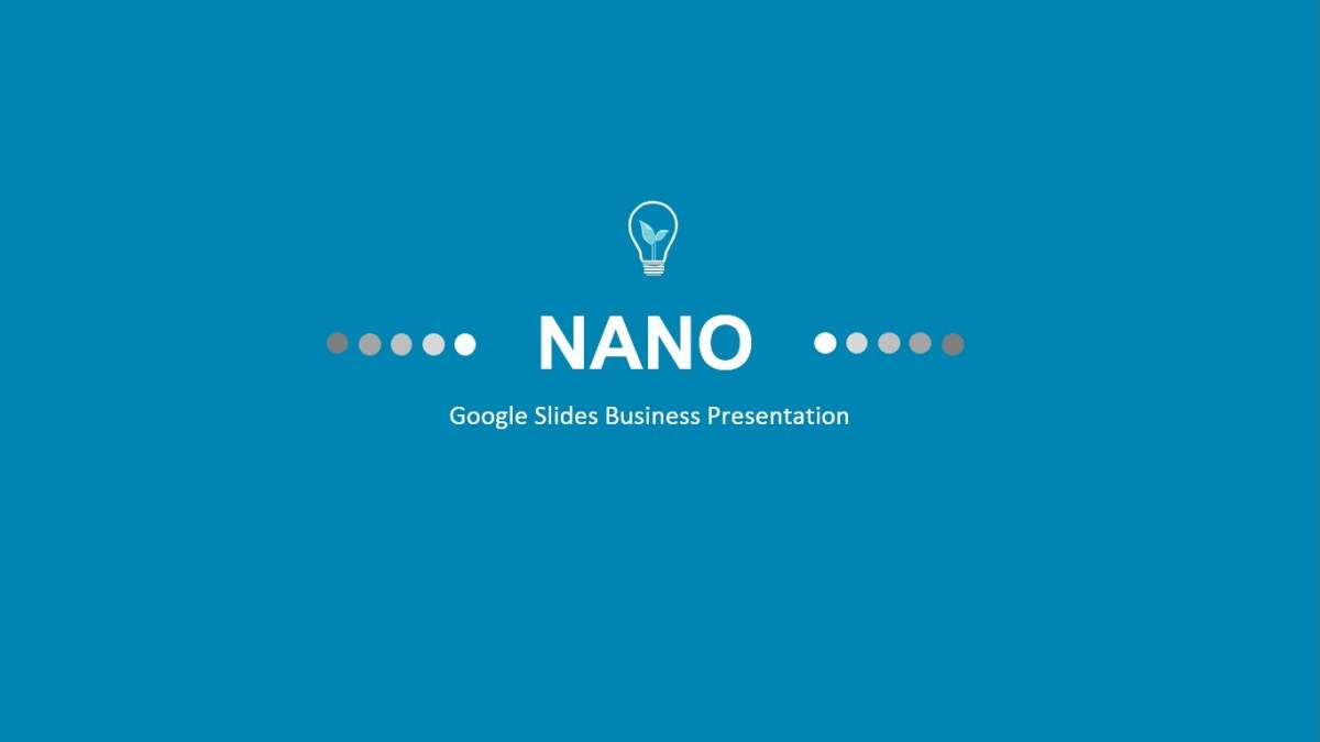 NANO - Google Slides Business Presentation