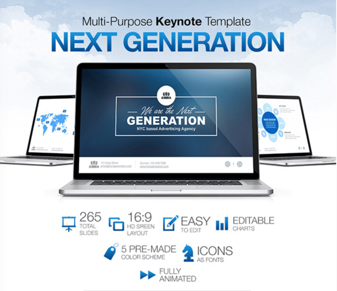 New Generation Keynote Theme