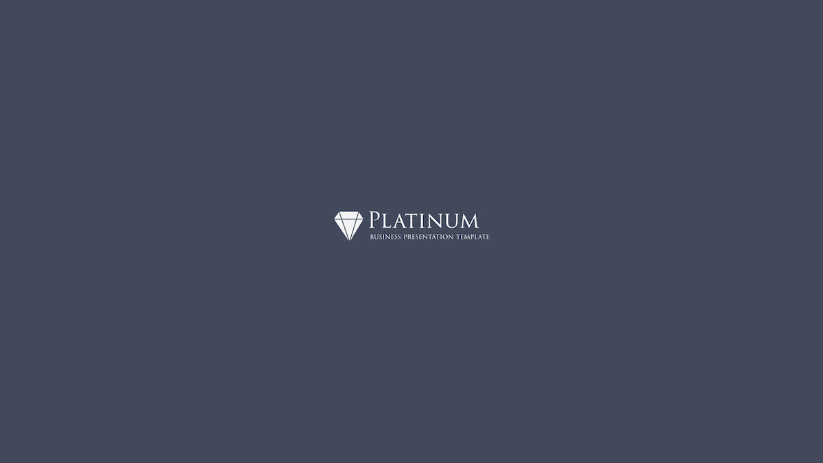 Platinum Business Keynote Template