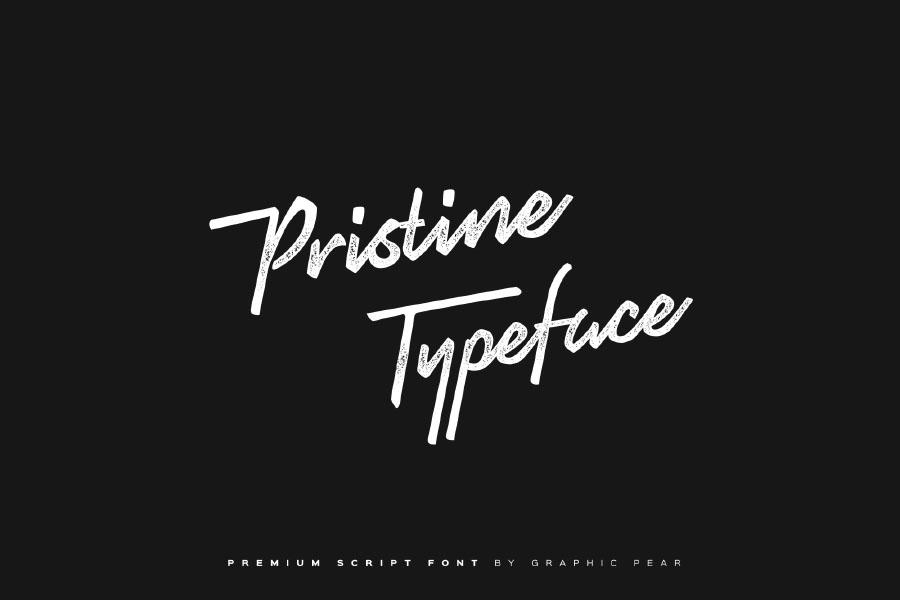 Pristine Handwriting Free Font