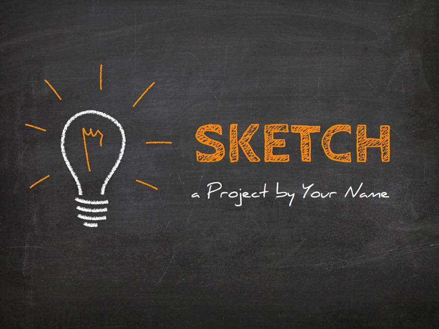 Sketch Keynote Template