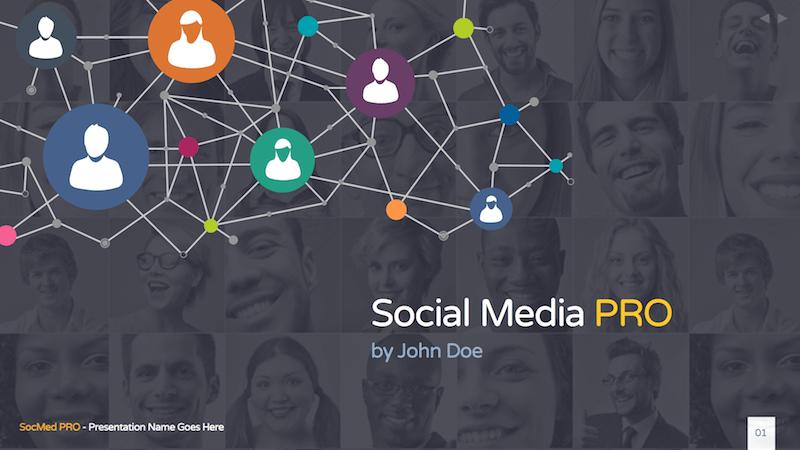 Social Media PRO - Keynote Template