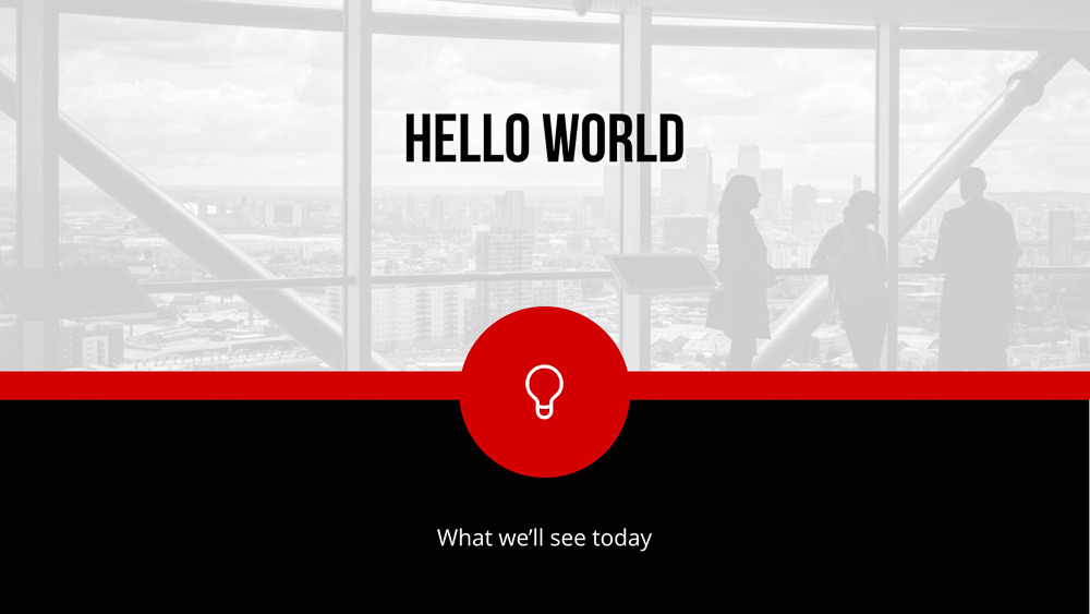 Spot On - Keynote Presentation Template