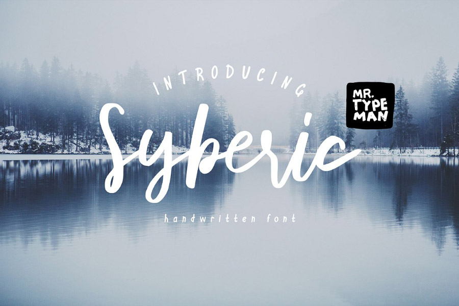 Syberic Free Font