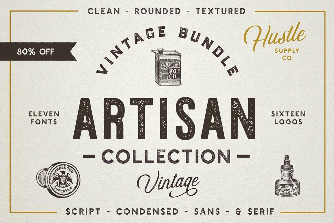 The Artisan Collection (Font Bundle)