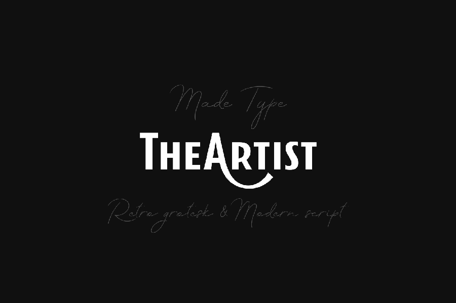 The Artist Free Font