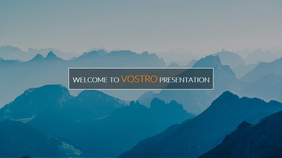Vostro Google Slides Presentation Template