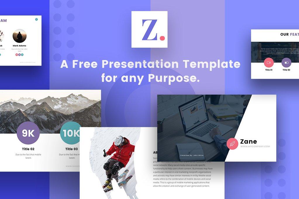 free powerpoint template, free keynote theme, free google slides theme