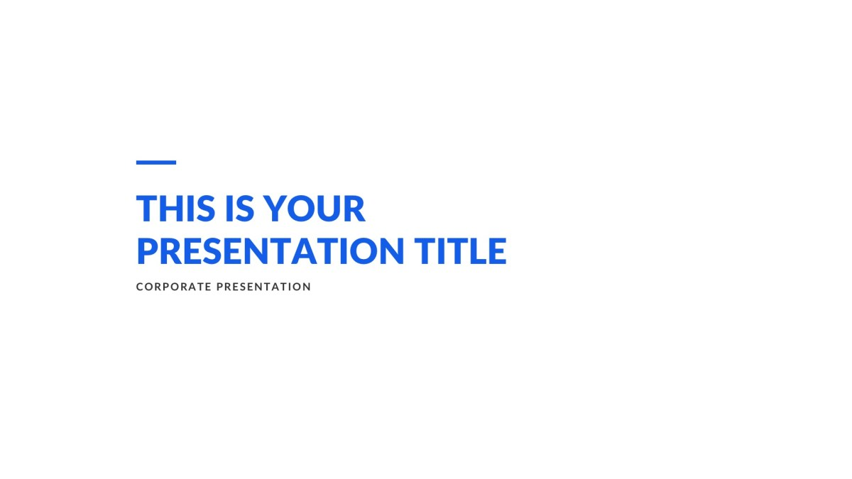 creek business free powerpoint template keynote and google slides