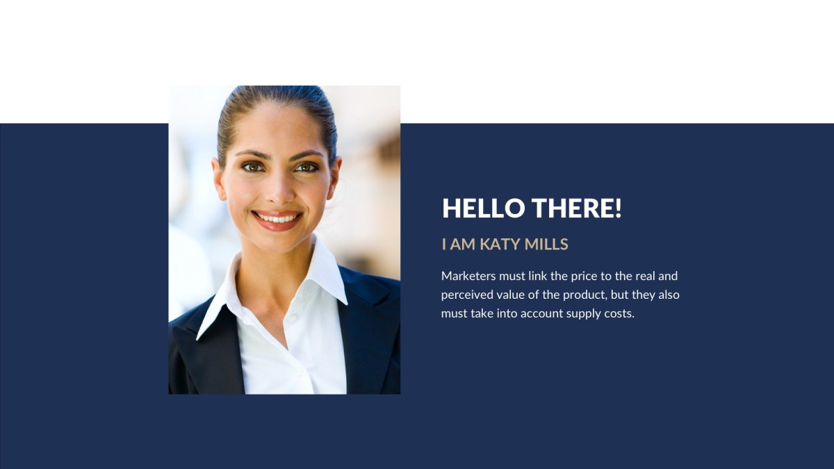 Navy Business Free PowerPoint Template, Keynote Theme, Google Slides