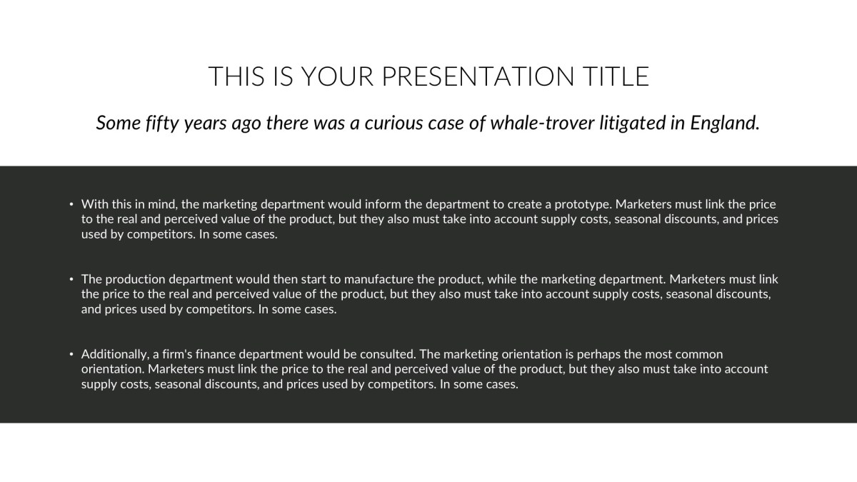 BLK Business Free PowerPoint Template, Keynote Themes, and Google Slides
