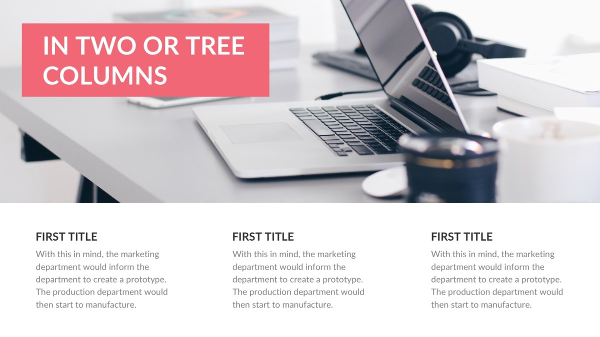 Agency Business Free PowerPoint Template, Keynote Themes, and Google ...