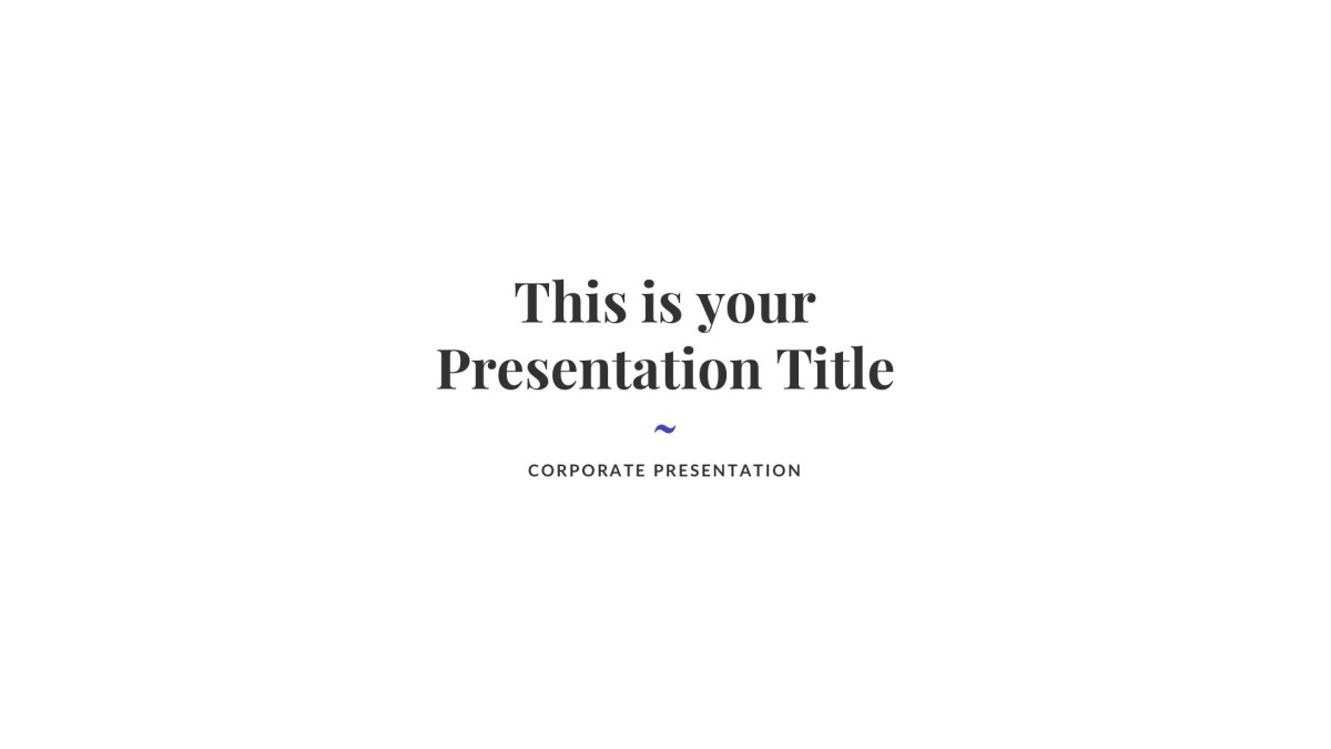Creative Business Free PowerPoint Template