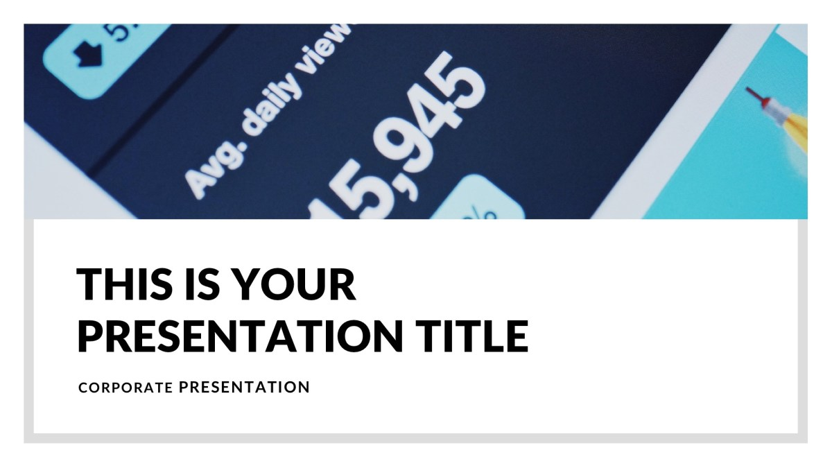 The 75 best free powerpoint templates of 2018 updated mnml business free powerpoint template fbccfo Image collections