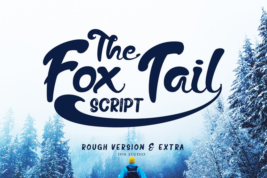 01 - Fox Trail Script Free Font Demo