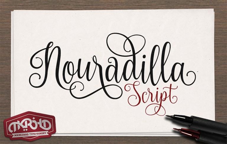Nouradilla Script Font