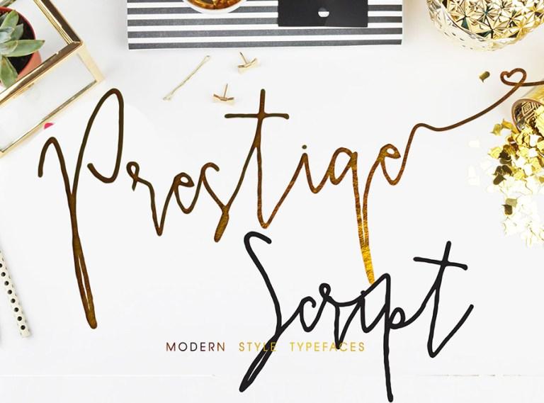 Prestige Script Font