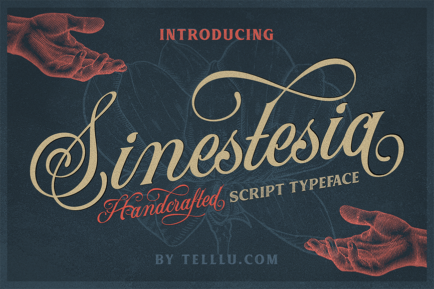 01 - Siniestra Script Font Demo