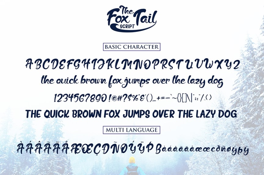 03 - Fox Trail Script Free Font Demo