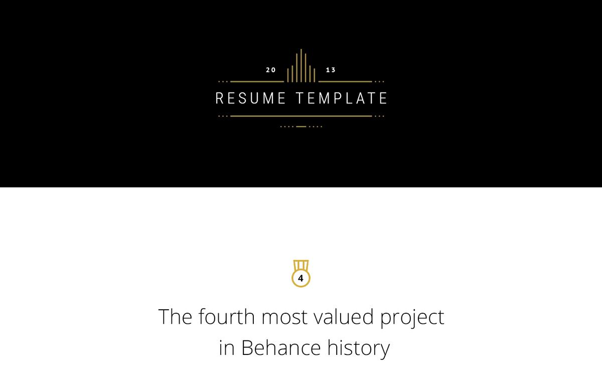 Elegant and Simple FREE Resume Template