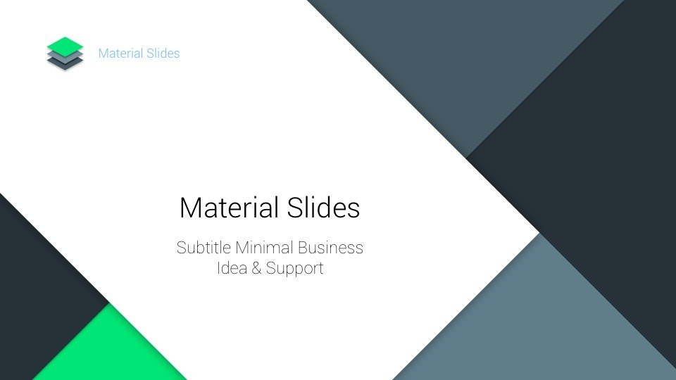 Material PowerPoint Template