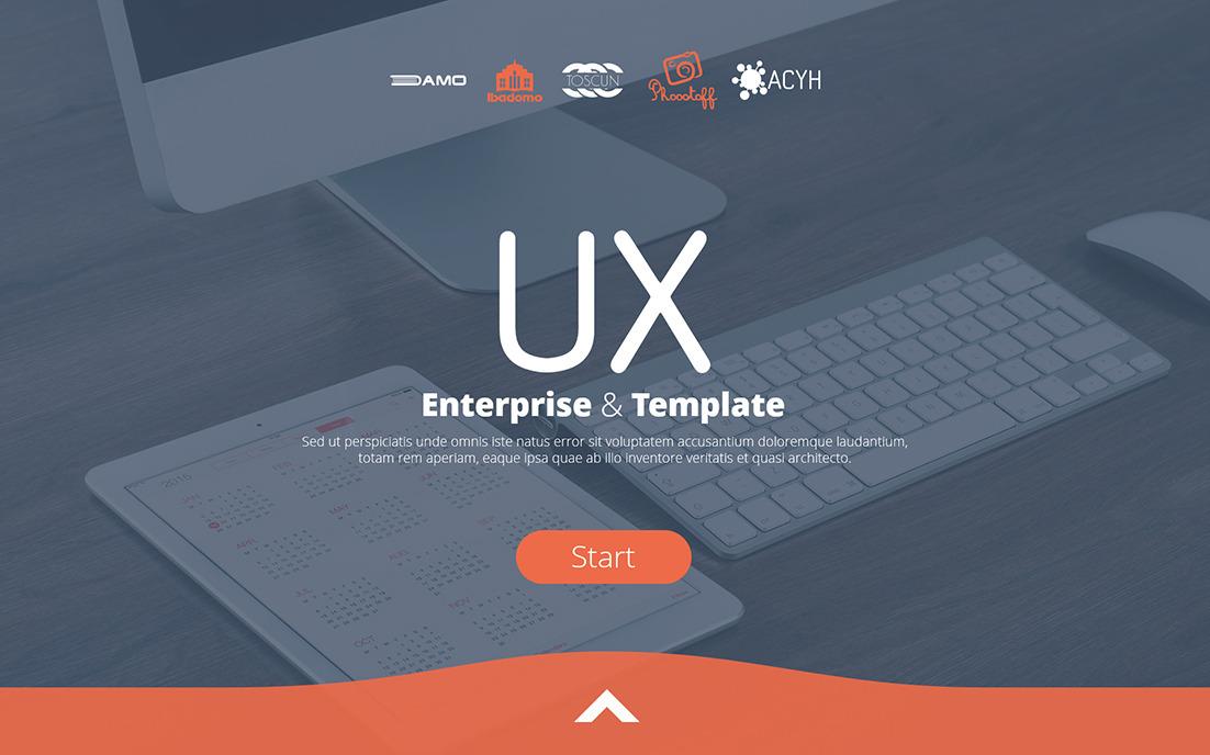 UX Enterprise PowerPoint Template