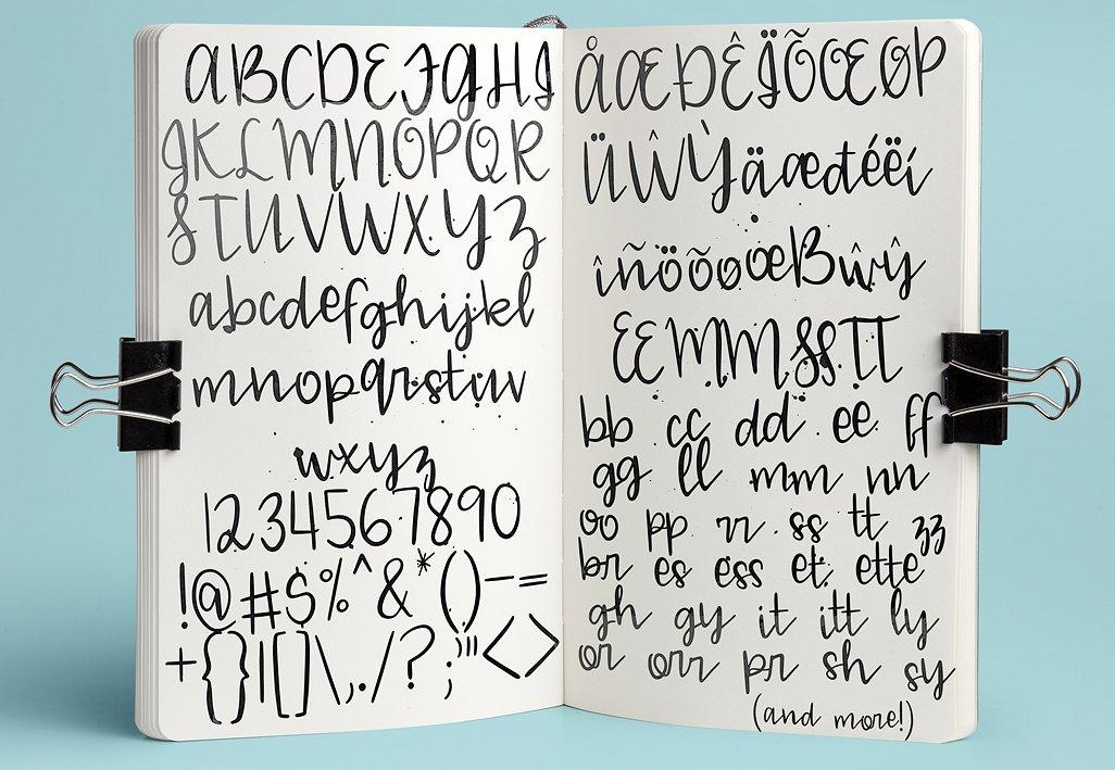 02 - Blue Mason - Free Script Font