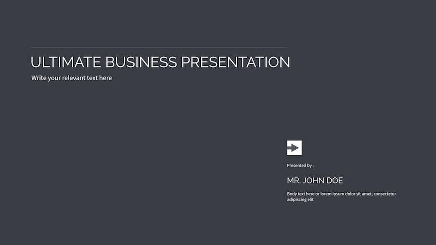 16 - Multipurpose Keynote Presentation Vol 07