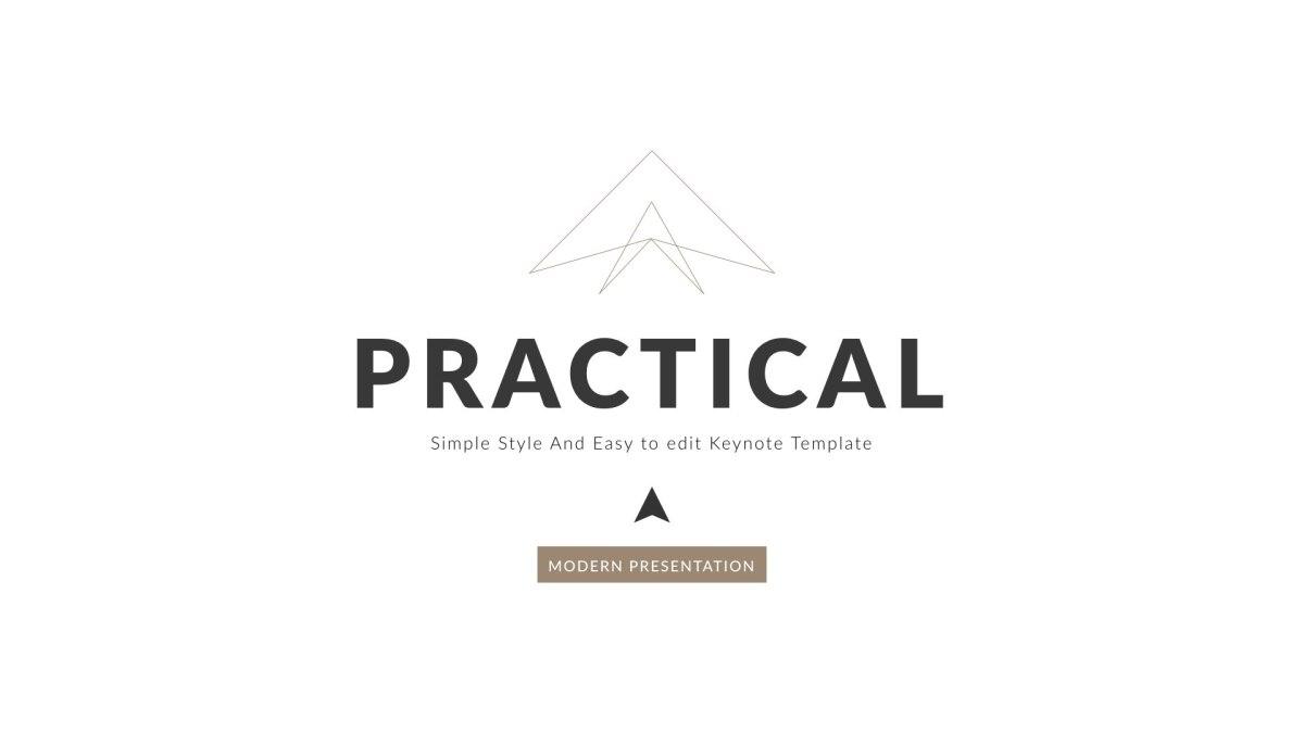 17 - Practical Clean Trend Keynote Template