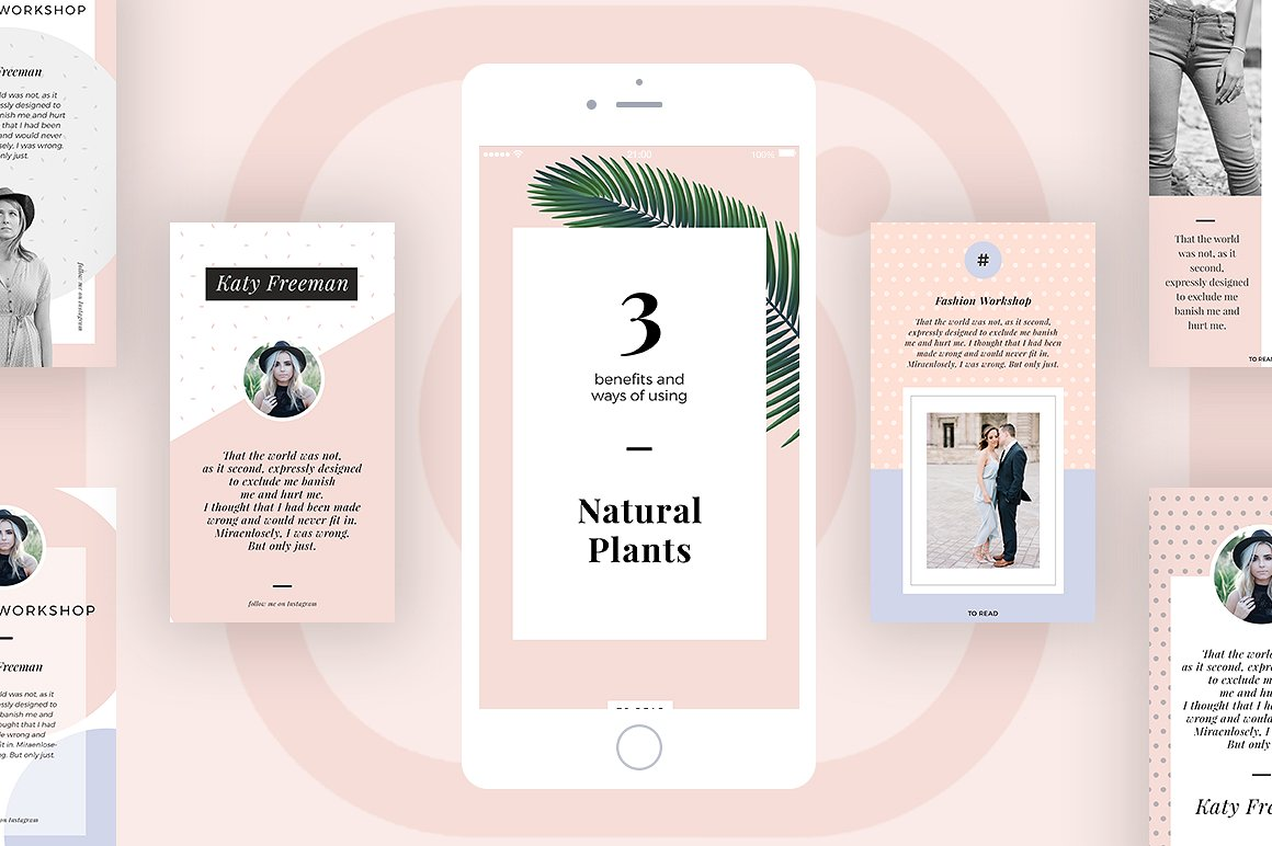 2. Bella Instagram Stories for Bloggers