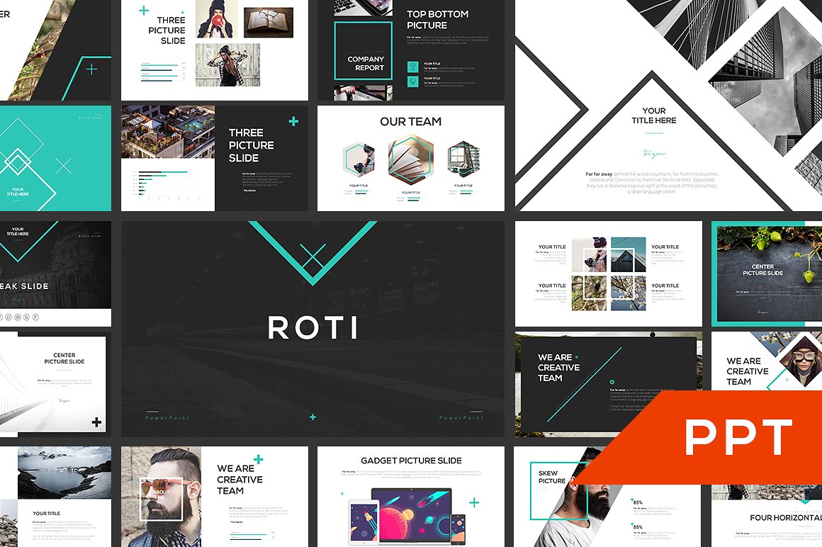 21 - ROTI PowerPoint Template