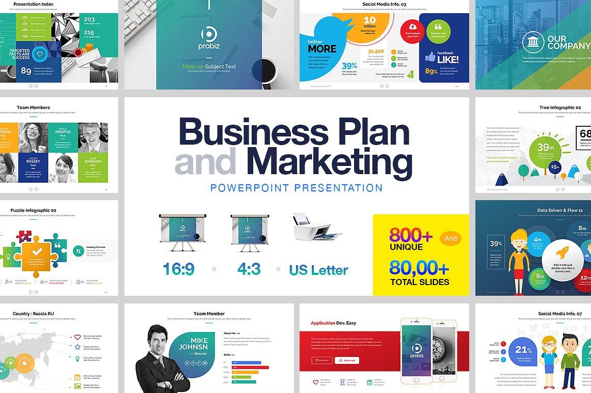 22 - Business Plan & Marketing PowerPoint