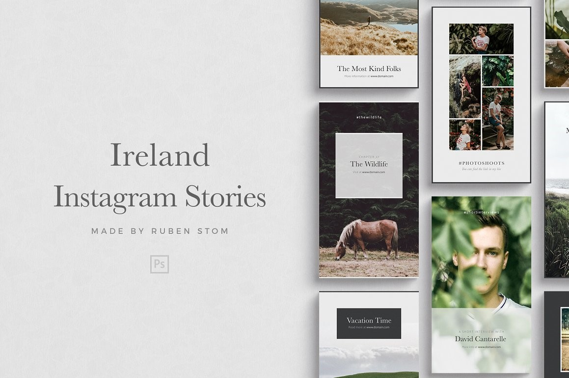 23. Ireland Instagram Stories