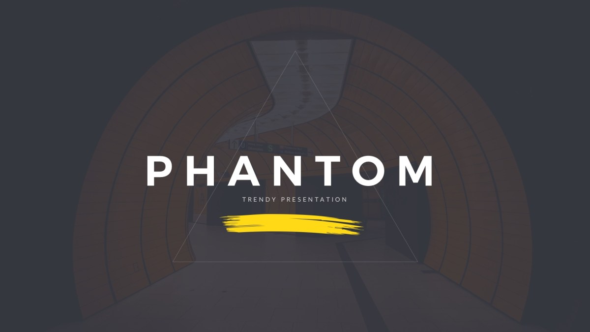 30 - Phantom Modern Keynote Template