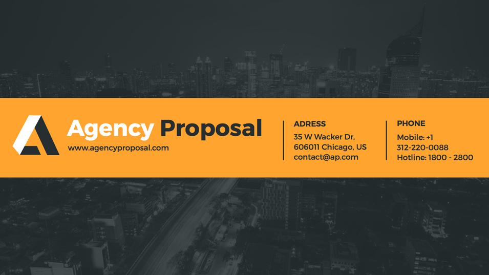 37 - Agency Proposal Keynote Presentation Template