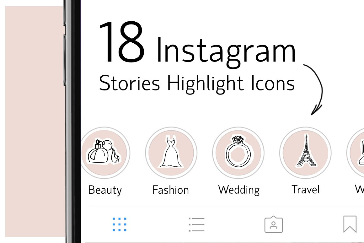 40. 18 Instagram Stories Highlight Icons