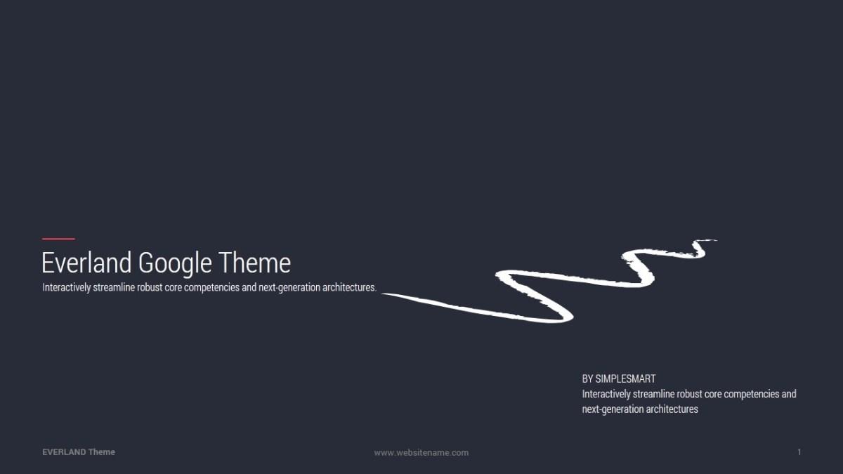 46 - Everland Business Google Slide Theme