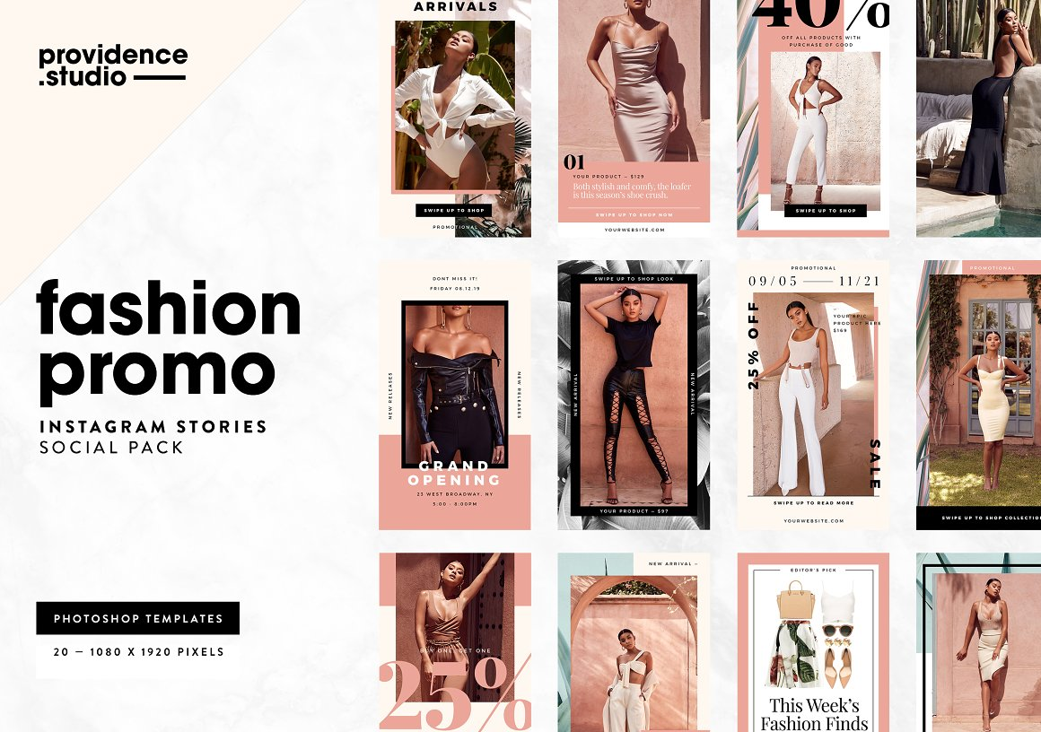 50. Fashion Promo IG Stories Pack