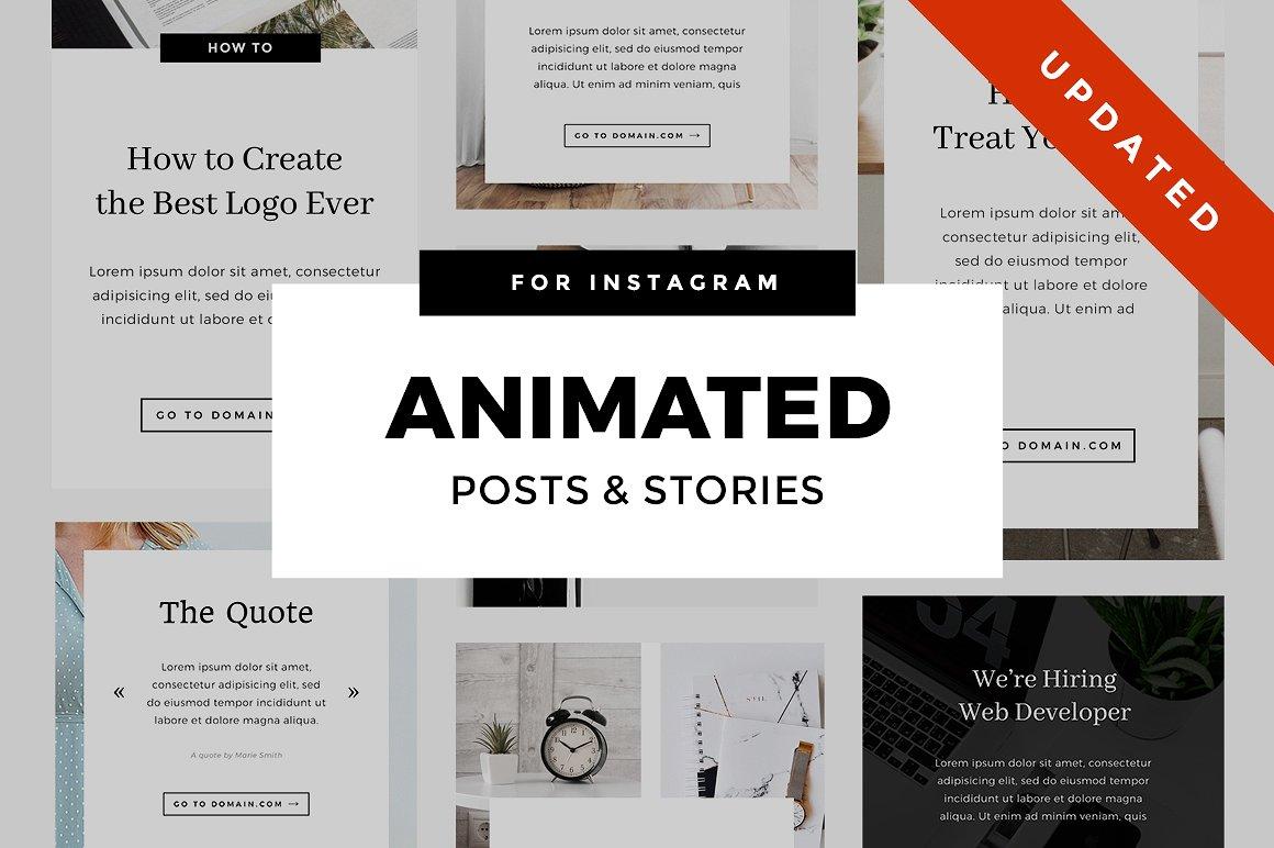 51. Animated Instagram Stories & Posts