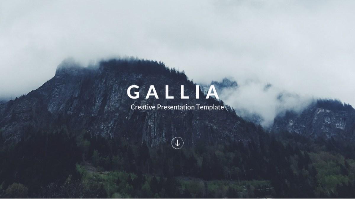 52 - Gallia - Creative Google Slide Template