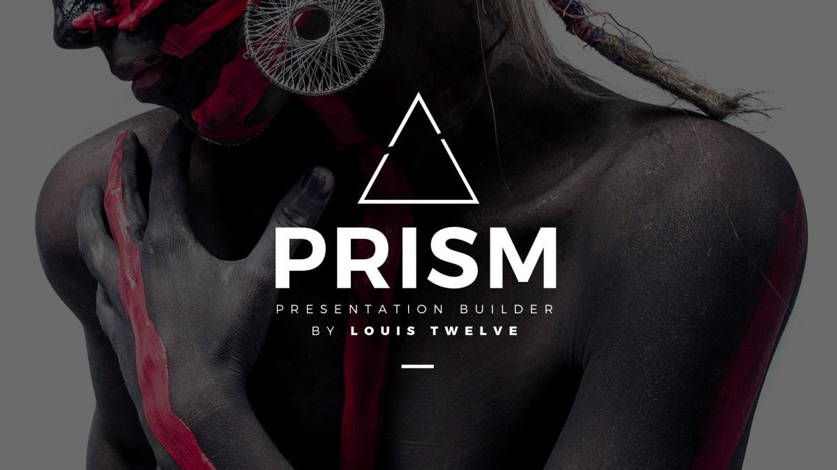 9 - Prism Minimal Keynote Template Builder