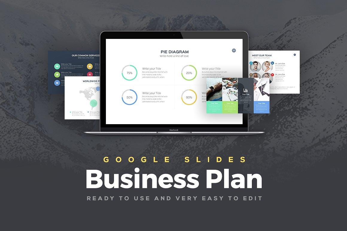 Business Plan Google Slides Templates 1