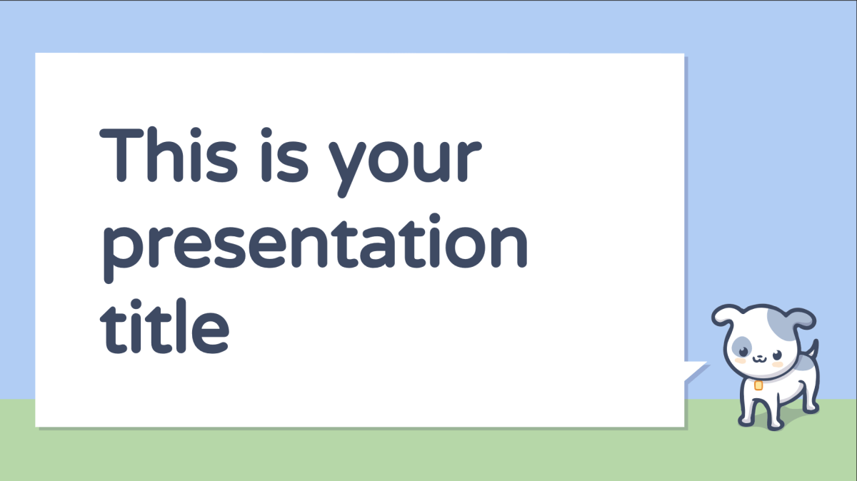 Crab Presentation Template 1
