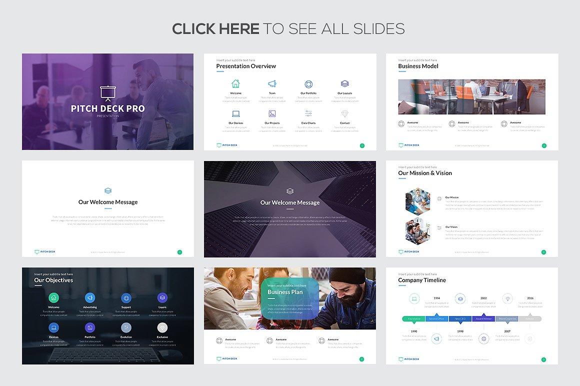 Pitch Deck Pro Google Slides Template 2