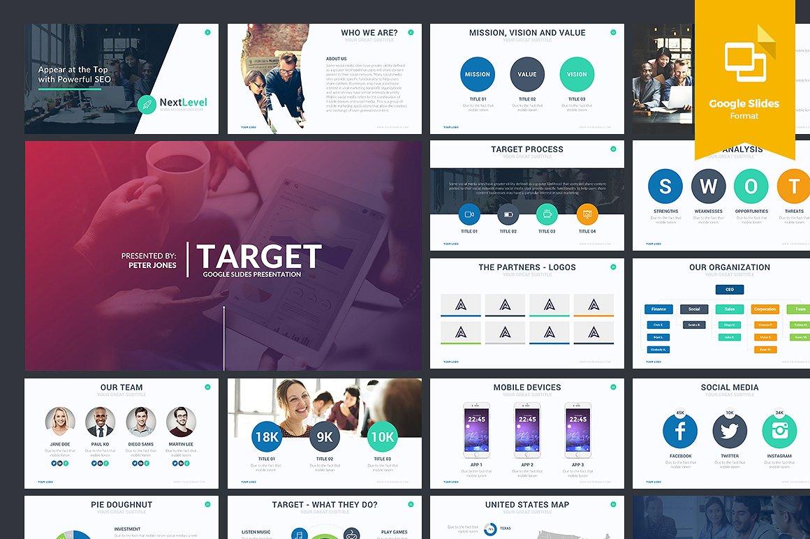 Target Google Slides Template 1