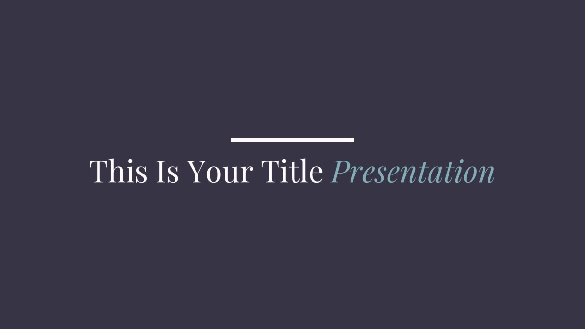 Rochester Free Presentation Template